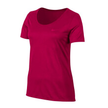 NIKE As W Nk Dry Tee Leg Scoop - Wild Cherry/(Wild Cherry)