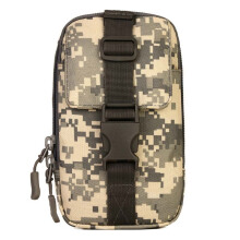 SBART Outdoor Hiking Wallet Pouch Purse Phone Bag Tactical Military Molle Waist Bag Chest Pack
