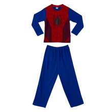 MARVEL Spider-Man Pajama Set for Boys Costume – Red & Blue