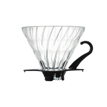 Hario Dripper V60 Glass Black VDG-02B
