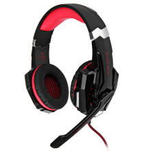 KOTION EACH G9000 Gaming Headphone 7.1 Surround USB Vibration Game Headset Headband Headphone with Mic LED Light for PC Gamer
