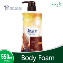 BIORE Body Foam Exotic Cinnamon Pump 550 ml