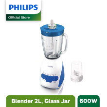PHILIPS Blender Beling 2 L HR2116/30 - Biru