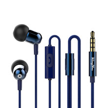 Kingyou H-22 Earphone wired mobile phone headset fashion In-ear Android phone