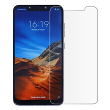 MOONMINI for  Nude Packing Xiaomi Pocophone F1 Tempered Glass Screen Protector Film Anti-Scratch Screen Cover As Shown