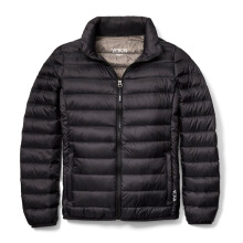 TUMI Clairmont Packable Travel Puffer Jacket - Black