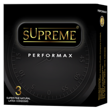 Supreme Kondom Performax - 3 Pcs