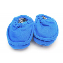 Cribcot Booties Plain - Electric Blue  0-3M