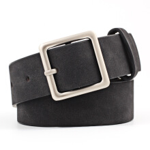 SiYing Simple wild square buckle pu popular belt
