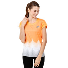 YONEX Ladies Polo T-Shirt - Mock Orange