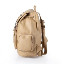INFICLO - TAS RANSEL / BACKPACK KASUAL WANITA - SFM 574  - BROWN