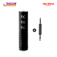 -Newstyle BT-450 Bluetooth Receiver Mobil Universal Music Player Bluetooth Headset Black