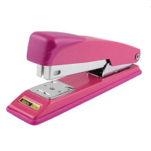 Jantens 24/6 26/6 Staples Office Document Binding Desk Stapler Stationery Fuchsia Pink