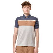 HAMMER Polo Stripe [A1PS417N1] - Navy