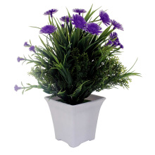 JYSK Artificial Plant 17D039 8X8XH24CM - Tanaman artifisial Purple