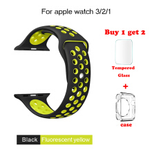 Apple Watch Band 38mm/42mm Nike+ Silicone Watch Strap For iWatch Series 3 2 1 Official Color
