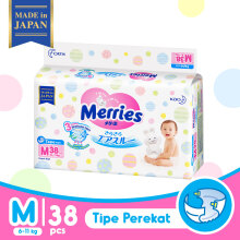 MERRIES Premium Popok Tape M - 38
