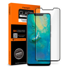Mate 20 Pro Tempered Glass Spigen Glas tR Curved Huawei Screen Protector