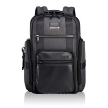 TUMI Alpha Bravo Sheppard Deluxe Brief Pack - Gray Anthracite