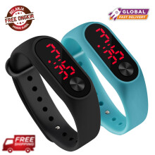 Fashion Led Digital Watch Men and Women Casual Sports Watch Child Watch Outdoor Bracelet Watch Clock