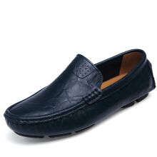 Zanzea US Size 6.5-12 Men Flat Casual Outdoor Leather Soft Comfortable Flats Loafers Shoes