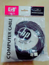 Kabel Data Printer USB HP 5 Meter Warna Hitam