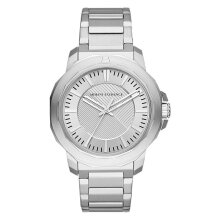 Armani Exchange AX1900 Men Silver Dial Stainless Steel Strap [AX1900]