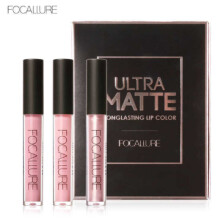 Focallure long-lasting non-stick cup lip gloss matte matte pearl  3piece each set
