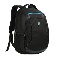 [COZIME] Oiwas Men Business Style Backpack School Backpack Bag 15.6 Inch Notebook Bag Black