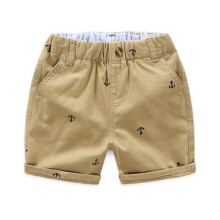 Children's Shorts Men's Summer Boys Pure Cotton Printed Shorts Leisure Pants