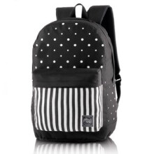 BLACKKELY - TAS RANSEL / BACKPACK KASUAL PRIA - LJB 259  - BLACK