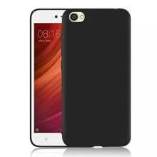 TM Case Slim Mate Case for Xiaomi Redmi Note 5A (5.5 inch) 2017 Non Finger Print Casing Matte Anti Finger Print Black