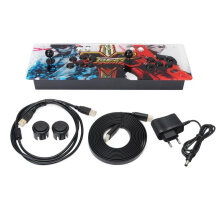 COZIME Pro 1099 Video Games in 1 Family Box Home Arcade Console with Dual Joystick Black  EU plug