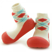 Attipas Happy Walk - Argyle Red