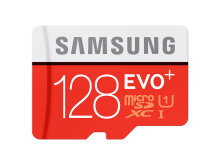 Samsung MMC Evo Plus SD Card plus Adaptor Original 128 GB
