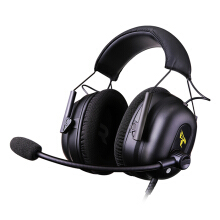 Shengmeiid Somic G936N USB 7.1 Virtual Surround Sound Game Headset Universal Headband Over-ear Headphone with Mic and In-line Control BLACK