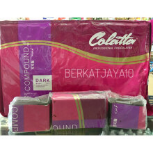 Berkatjaya10 - Colatta Chocolate Compound Coklat Dark Kemasan repack 500gr