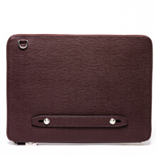 Faire Leather Co. - Bond CG Everyday Padfolio (Burgundy) | Leather Tech Organiser