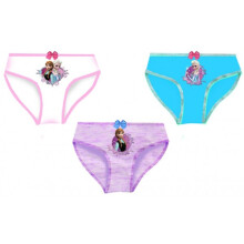 Disney Frozen Underwear (White, Misty Purple, Ice Blue) - 3 pack