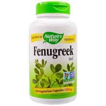 Original Nature'S Way Fenugreek 610 Mg 180 Caps Tambah Asi Natures Way
