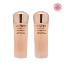 【Amily】SHISEIDO BENEFIANCE WrinkleResist24 Balancing Softener 25ml*2 Travel Set