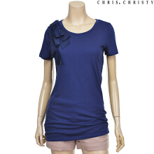 woman ribbon modern T NV (KCYASMM1491) Navy XS