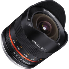 Samyang 8mm f/2.8 Fisheye II Lens for Fujifilm X Mount Black