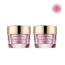 【Amily】Estée Lauder Resilience Lift Night Lifting/Firming Face and Neck Creme 15ml*2 Travel Set
