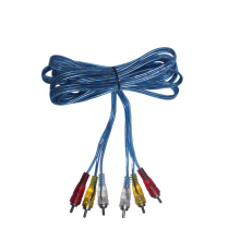 EELIC KAL-RCA3KE3  KABEL AUDIO VIDEO RCA 3 KE 3 MALE BERKUALITAS PANJANG 2.7 METER Blue