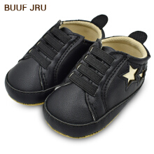 Aosen  BUUF JRU Star Print Infant Newborn Baby Elastic Band Toddler Casual Shoes