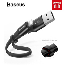 Baseus USB Charger Cable for iPhone X 8 7 6 Plus 2A Fast Charging Cable Phone USB Data Cable Power Bank Battery Charger Cable