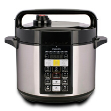PHILIPS Electric Pressure Cooker HD2136 - Stainless Silver