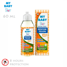 My Baby Minyak Telon Plus Longer Protection 60 ml