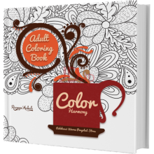 ADULT COLORING BOOK: COLOR HARMONY - Ranggi Ariliah